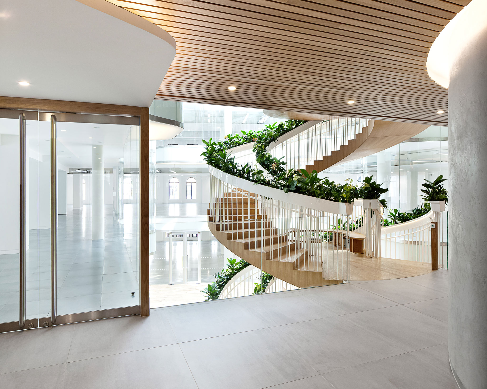 Ampersand Building interior