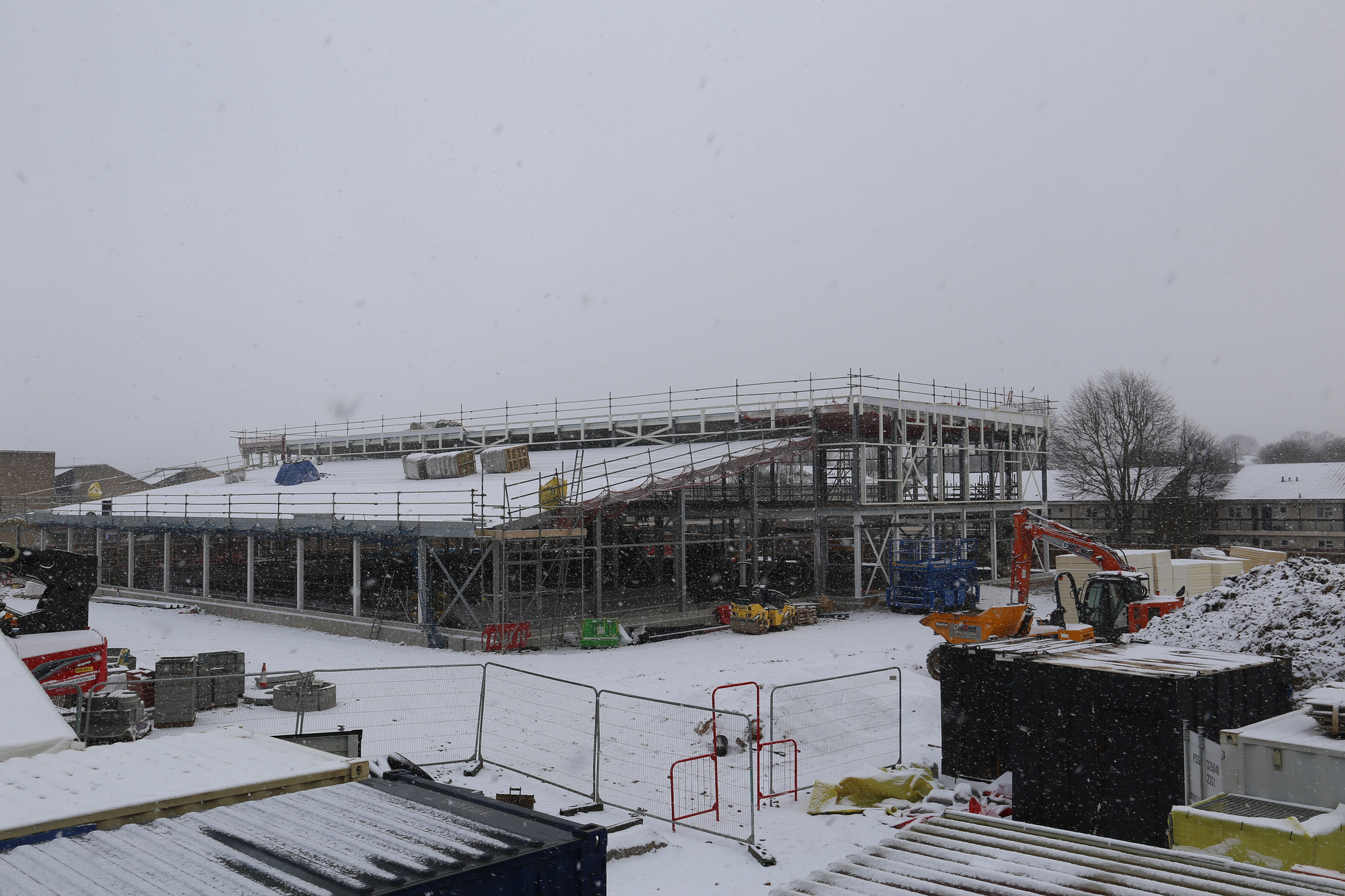 Whaltham Abbey Topping Out_Structure