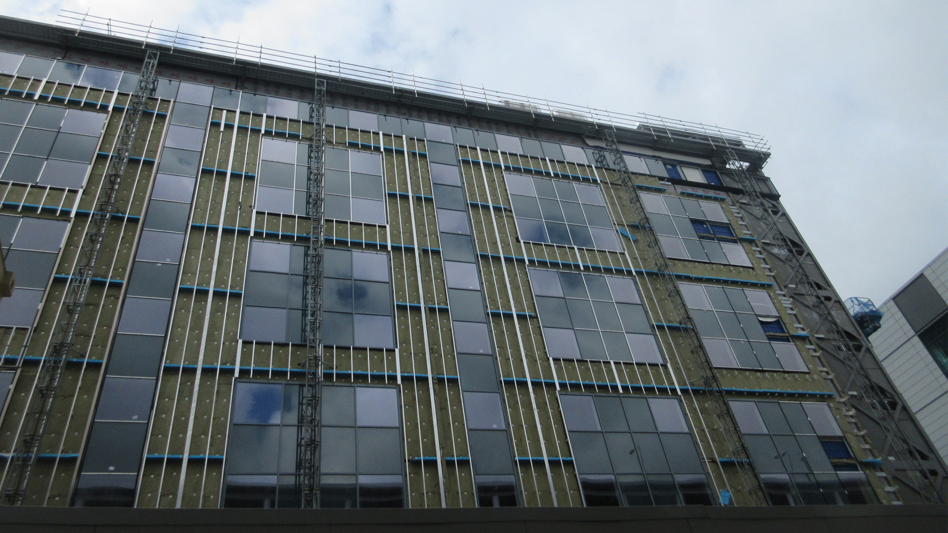 HGI Birmingham construction